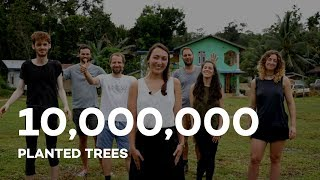 10 million trees planted with Ecosia