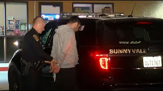 Raw Video: Sunnyvale Police Bust Alleged Credit Card Skimming Suspect