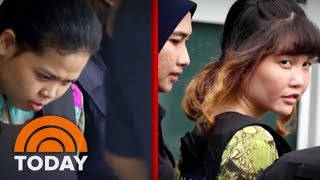 Women Accused Of Murdering Kim Jong Un's Half-Brother Brought To Scene Of Crime | TODAY