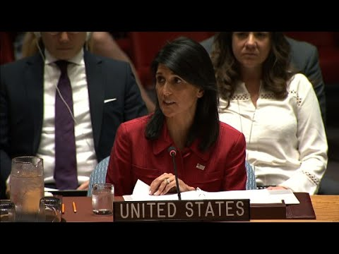 Haley: US is prepared to respond with military force against North Korea