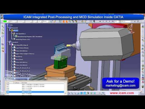 ICAM - CATIA Integration -Control Emulator Solution for CATIA