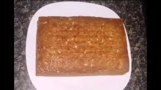 Simple but very spongy Banana Cake Recipe