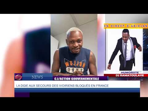NTV NEWS : Les Ivoiriens bloqués à l'extérieur du pays regagnent Abidjan.