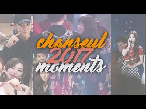 EXO Chanyeol (찬열) & Red Velvet Seulgi (슬기) MOMENTS/INTERACTIONS in 2017