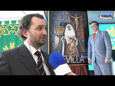 César Ramírez explica el cartel de la Semana Santa de Sevilla 2016