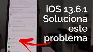 iOS 13.6.1 - POR ESTA RAZON DEBES ACTUALIZAR!