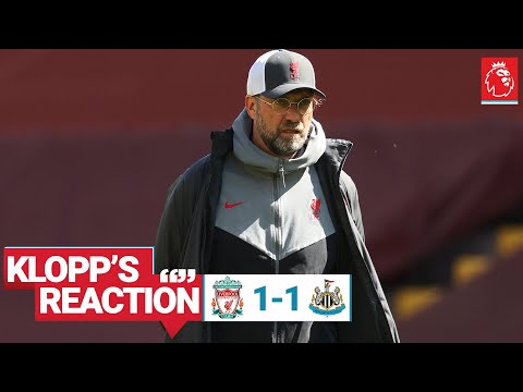 Klopp's Reaction: 'We created enough to win the game'    Liverpool vs Newcastle