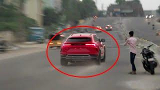 CRAZY Lamborghini Suv Driver | Acceleration | India