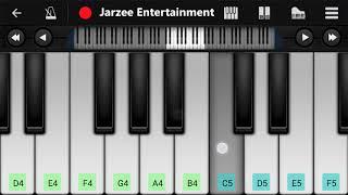 Tujh Mein Rab Dikhta Hai (Shahrukh Khan) - Mobile Perfect Piano Tutorial