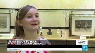 Austria: meet 11-years-old modern day Mozart Alma Deutscher who sees her 1st opera on stage