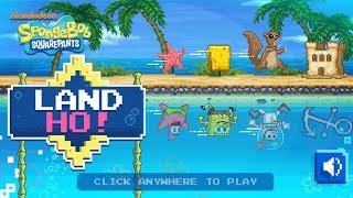 Games: Spongebob Squarepants - LAND HO!