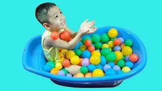 Learn colors with BABY and balls for children, Toddlers Babies | Bamboo TV - Learn Colors For Kids