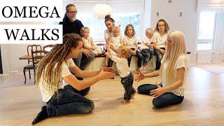 OMEGA STARTS WALKING & KINGJAMES VOMITS /SHAVES