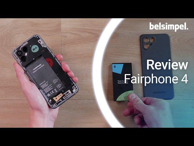 Belsimpel-productvideo voor de Fairphone 4 128GB Grijs