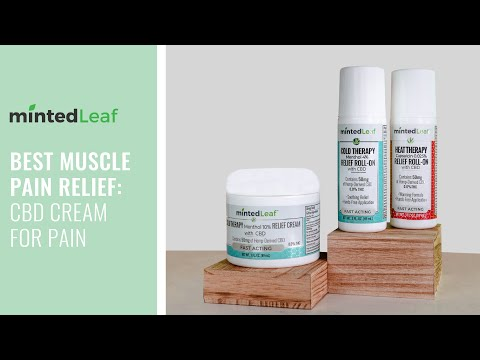 Best Muscle Pain Relief: CBD Cream for Pain