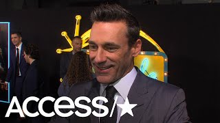 Jon Hamm Is Up For A '30 Rock' Revival: 'I Would Work In A Soup Commercial With Tina Fey' | Access