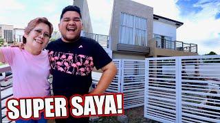 ANG UNANG ARAW NI MAMA SA BAGONG BAHAY (NALOKA SIYA SA PAG PASOK!!!) | LC VLOGS #365