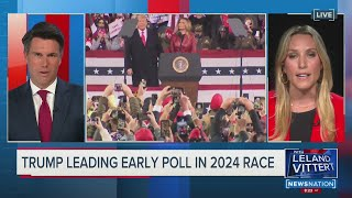 TRUMP LEADING EARLY POLL IN 2024 RACE