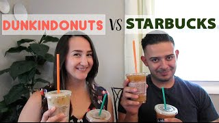 Cold Brew Coffee: Starbucks VS Dunkin Donuts