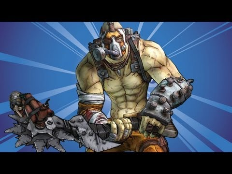 Borderlands 2 - Krieg The Psycho - Hellborn/Mania Skill Tree Gameplay - Smashpipe Games