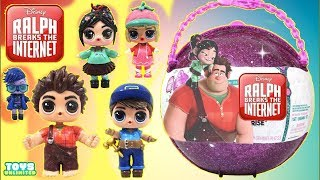 RALPH BREAKS THE INTERNET LOL Surprise Customs Help Rescue Vanellope & Taffyta