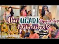 Our Ugadi Special Celebrations with Family!?|It Feels Different this Time|Half sarees,Food & More?||