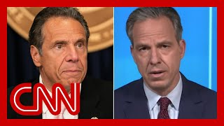 Tapper calls out NY Gov. Andrew Cuomo's Covid-19 victory lap
