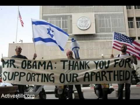 Obama thank you for supporting our Apartheid state