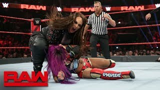 Ronda Rousey & Sasha Banks vs. Nia Jax & Tamina: Raw, Jan. 14, 2019