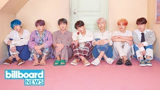 John Cena Announces BTS' 'Fire' to Be Featured on Soundtrack 'Playing With Fire' | Billboard News