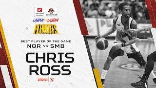 Best Player: Chris Ross   PBA Commissioner's Cup 2019 Quarterfinals