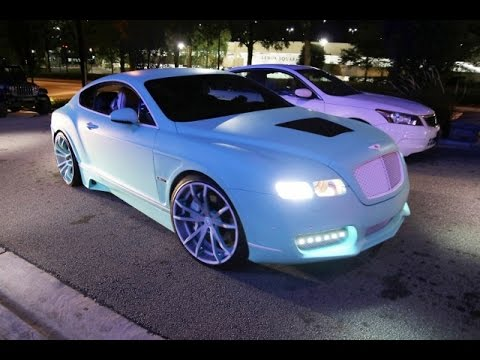 Yo Gotti's CMG Tiffany Edition Bentley Continental GT on Forgiatos