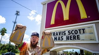 HOW GOOD IS THE TRAVIS SCOTT MCDONALDS VALUE MEAL?! (Where's The Toy?)