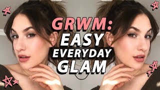 GRWM: EASY EVERYDAY MAKEUP! Cool Toned GLAM   Jamie Paige
