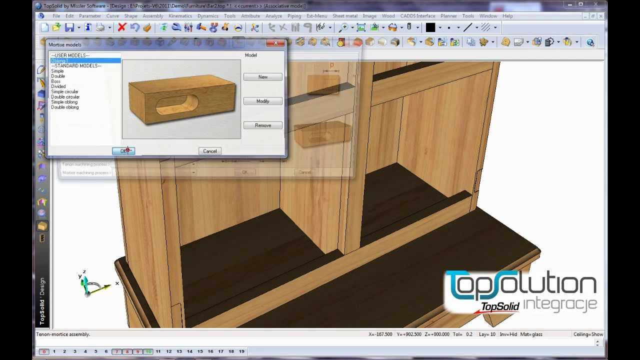 topsolid wood funkcje youtube. Black Bedroom Furniture Sets. Home Design Ideas