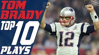 Tom Brady's Top 10 Plays of the 2016 Season | New England Patriots | NFL Highlights
