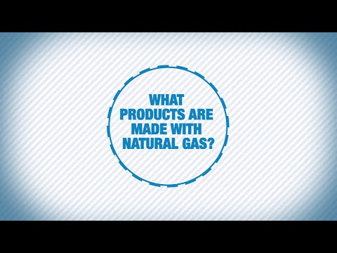 What products are made with natural gas?