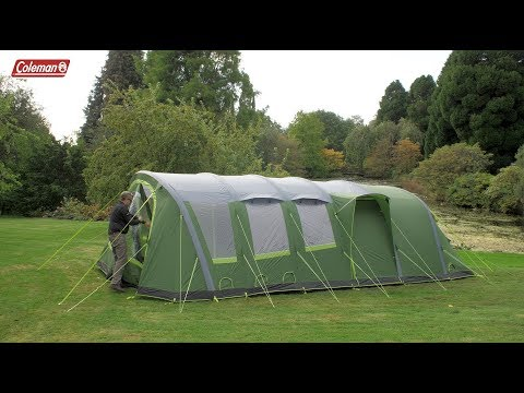video Coleman Weathermaster 8XL Air Tent
