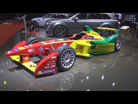 ABT Formula E (2016) Exterior and Interior in 3D