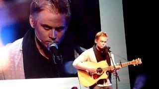 Billy Magnussen singing @ ATWT event Utrecht 2011