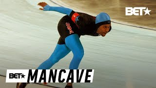 Winter Olympian Shani Davis Put On Ice By Black Twitter | BET's Mancave