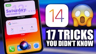 iOS 14 Tricks - You Didn't Know EXISTED !