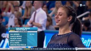 Sonya Meraz (UCLA) - Balance Beam (9.525) - Ohio State at UCLA 2018