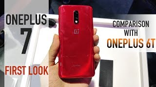 OnePlus 7 Hands On: Comparison with OnePlus 6T and 7 Pro | Which One To Buy | Price In India | Specs