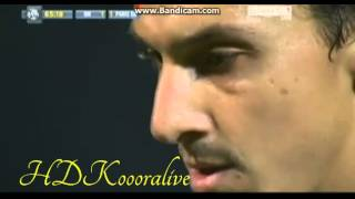 Paris Saint Germain vs marseille 2-1 || 06/10/2013 || Zlatan Ibrahimovic Goal || Ligue1