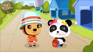 Gấu trúc Panda học chỉ thị an toàn động đất | Jet's Channel