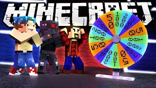 WHEEL OF FORTUNE IN MINECRAFT!