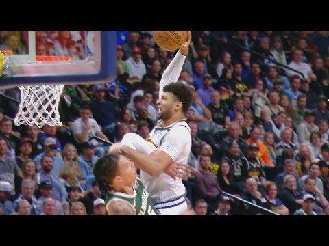Jamal Murray's Poster Ruled Offensive Foul vs Bucks! 2019-20 NBA Season