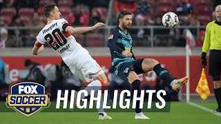 VfB Stuttgart vs. Hertha BSC Berlin | 2018-19 Bundesliga Highlights