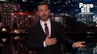 Jimmy Kimmel cries talking about his newborn son's near-death experience | Page Six